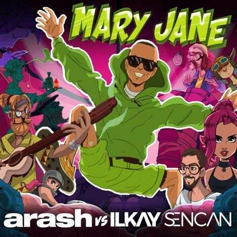دانلود آهنگ آرش به نام مری جین
